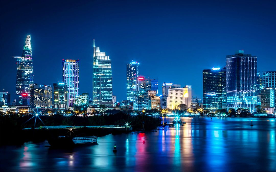 360 panoramic views from Thu Thiem